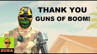Thank You Guns of Boom! Is this the answer? video: https://youtu.be...