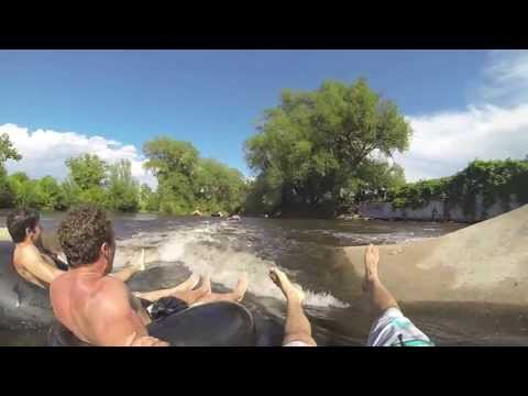 Tubing on poudre river - Fort Collins/CO