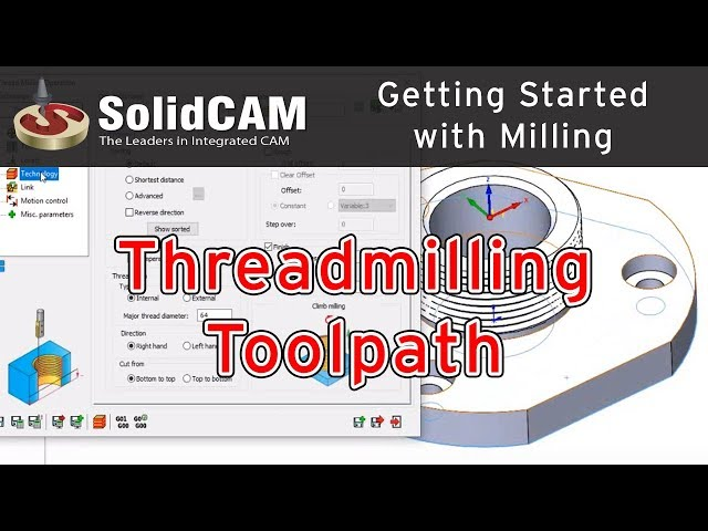 SolidCAM - Threadmilling