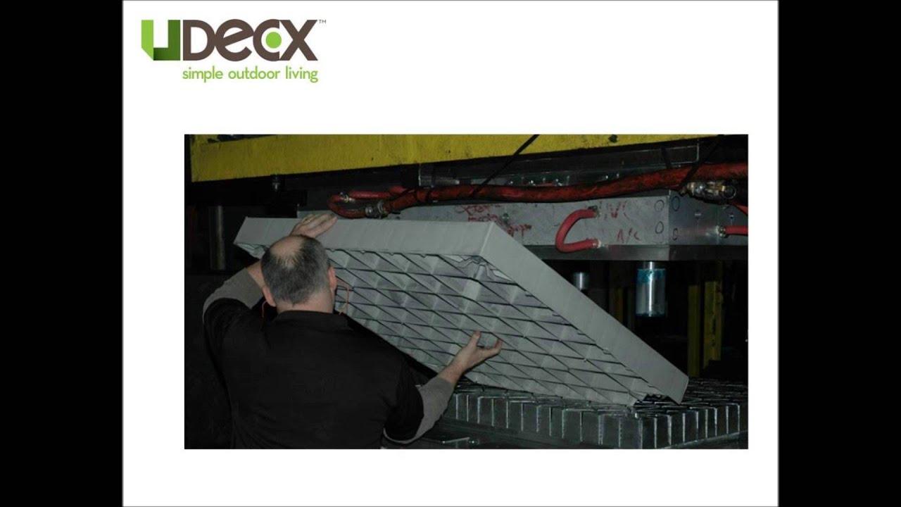 UDECX Modular Portable Decking System - YouTube - photo#32