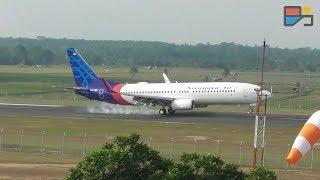 Naik Turun Pesawat di Bandara Radin Inten II Lampung - TRAINVELING #3