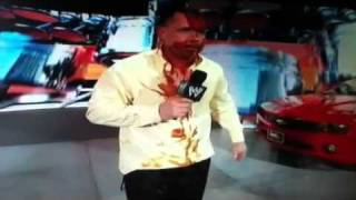Michael Cole sucks Jerry lawlers foot