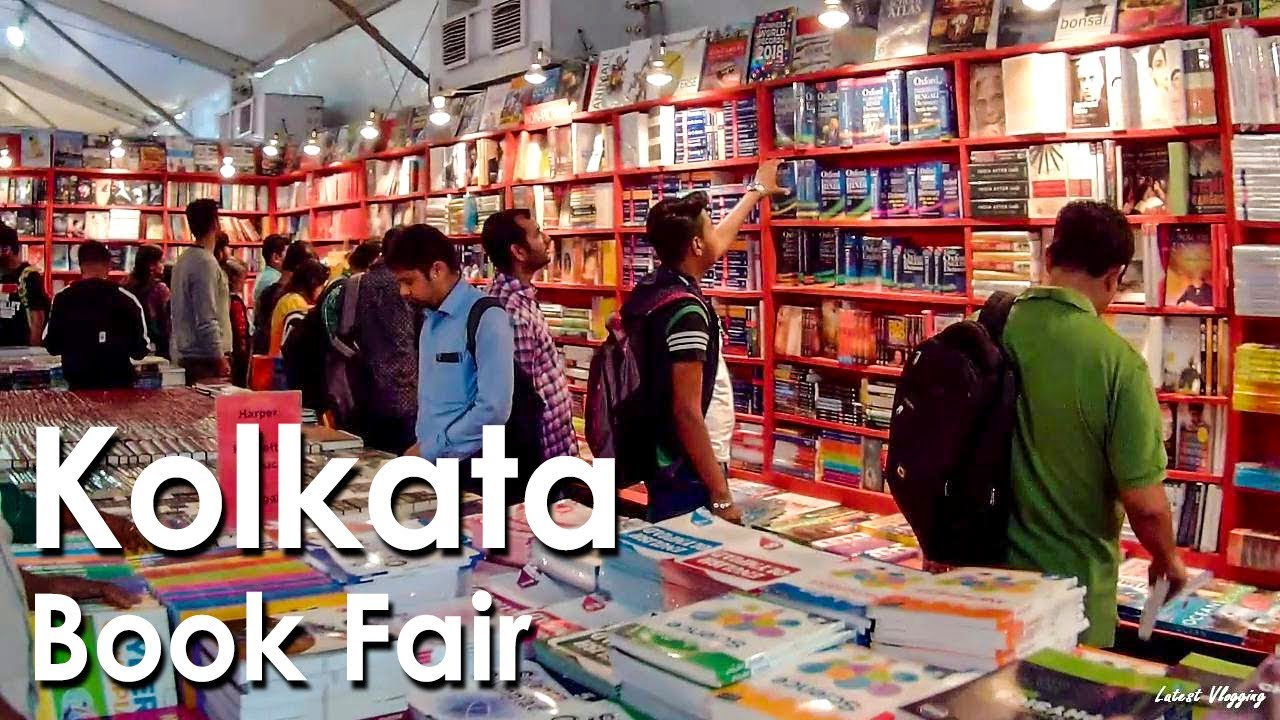 Exhibition Stall Booking In : The 42nd international kolkata book fair 2018 full tour youtube