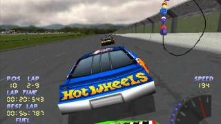 Lets play PS1 games NASCAR 98 part 8