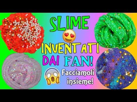 SLIME INVENTATI DAI FAN! FACCIAMOLI INSIEME! Iolanda Sweets