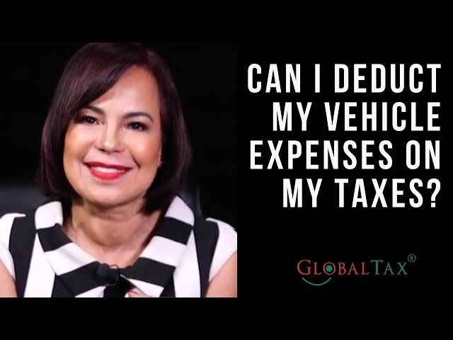 Can I deduct vehicle expenses on my taxes?