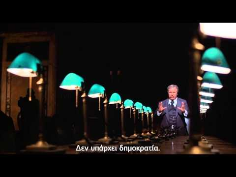 """Network (1976)  """"The world is a business"""" (Greek subs)"""