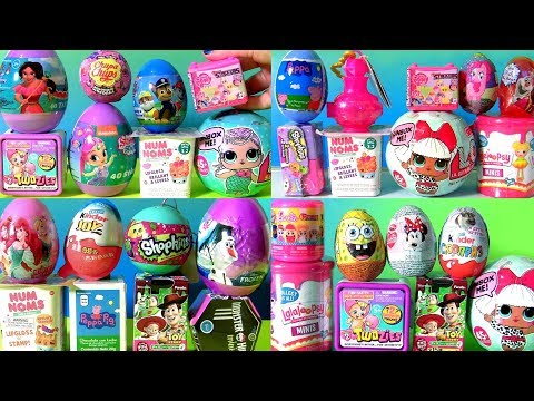 Mashems Fashems Compilation of TOYS SURPRISES by Funtoys Channel