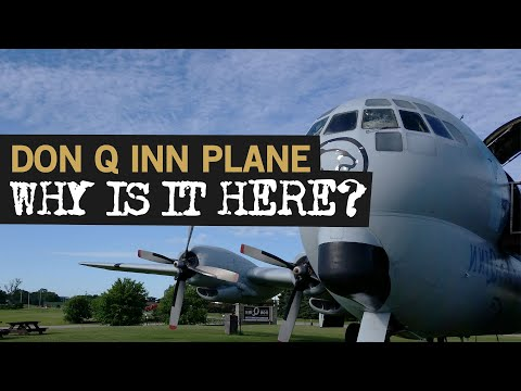 The Story Behind the Don Q Inn Plane in Dodgeville, Wisconsin