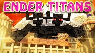 Minecraft | ENDER TITANS MOD Showcase! (Enderman Mod, Mobs Mod, Farlanders Mod)