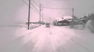 諫早市大雪(2016.01.25) 飯盛町