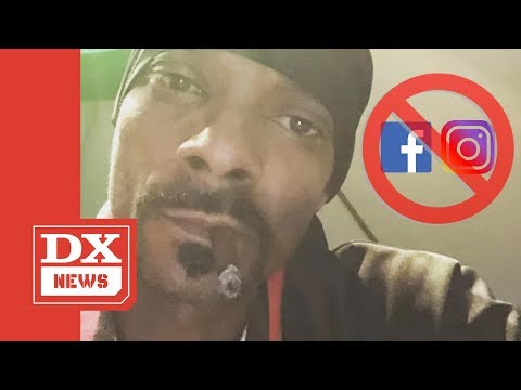 Snoop Dogg Cusses Out Facebook & Instagram For Banning Louis Farrakhan