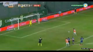 Gol de Cvitanich - Banfield 3 - 1 RosarioCentral - Torneo de Argentina 2017 - Fecha 28