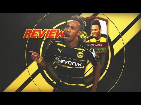 REVIEW AUBAMEYANG MÁSTER BUNDESLIGA 93-OVR | FIFA MOBILE