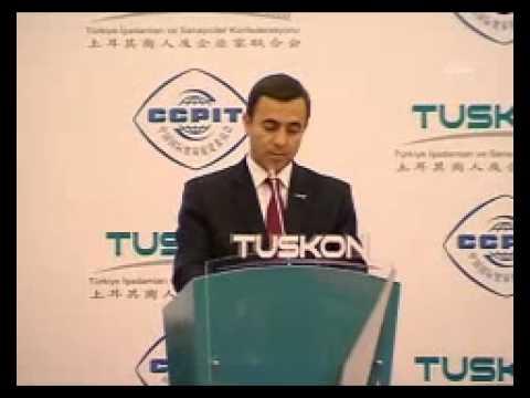 TUSKON'dan Çinli firmalara, ortak yatırım çağrısı
