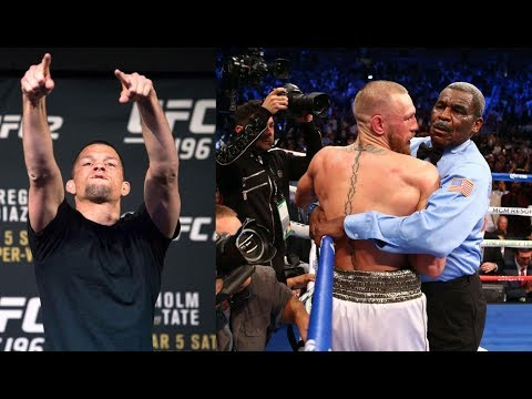 Нейт Диаз о поражении МакГрегора Мейвезеру, Си Эм Панк возвращается в UFC - Duration: 3:19.