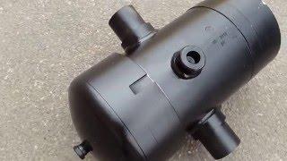 Гидроцилиндр подъема кузова CАЗ 3502 4-х штоковый
