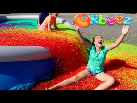 Thumbnail: ORBEEZ SPLASH BASH POOL PARTY CHALLENGE! Toys AndMe