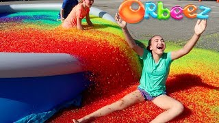 ORBEEZ SPLASH BASH POOL PARTY CHALLENGE! Toys AndMe