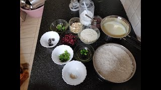 A body cooling Lunch recipe:  Curd Rice/ Thair Saadham