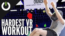 VRWorkout: The Fitness App That ACTUALLY Works You Out!