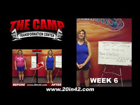 Arlington TX Weight Loss Fitness 6 Week Challenge Results - Arika Pickle