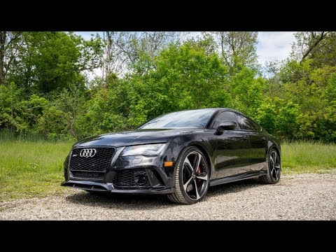 The 4-Door Supercar? | 2015 Audi RS7 Dynamic Edition Review! - YouTube