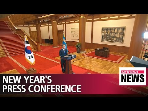 President Moon Jae-in's opening remarks on inter-Korean affairs at the 2019 New Year's press..