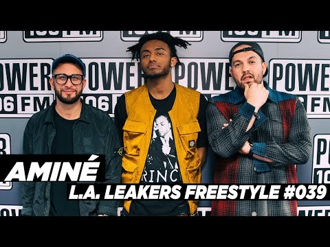 Aminé Freestyle w/ The L.A. Leakers -...