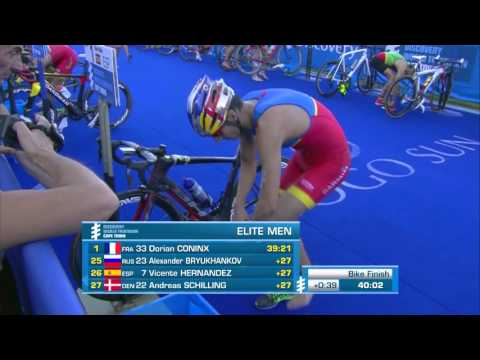 2016 Discovery World Triathlon Cape Town - Elite Men's Highlights