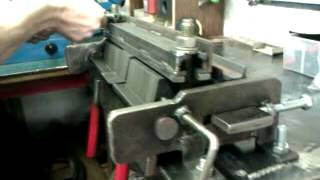 3mm, Homemade Metal Bender, Folder, Box, Pan Break, 12 Inch Capacity