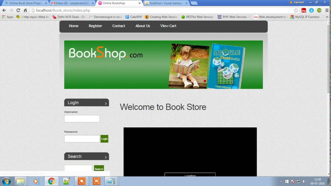 Online Book Store Project in PHP - phptpoint
