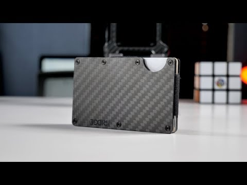 Ridge Carbon Fiber Smart Wallet Review!