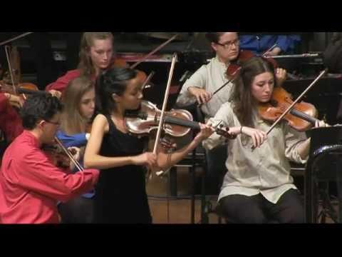 Anna Da Silva Chen - QYS - Violin Concerto No2. in D minor 3rd mvt. - Henri Wieniawski
