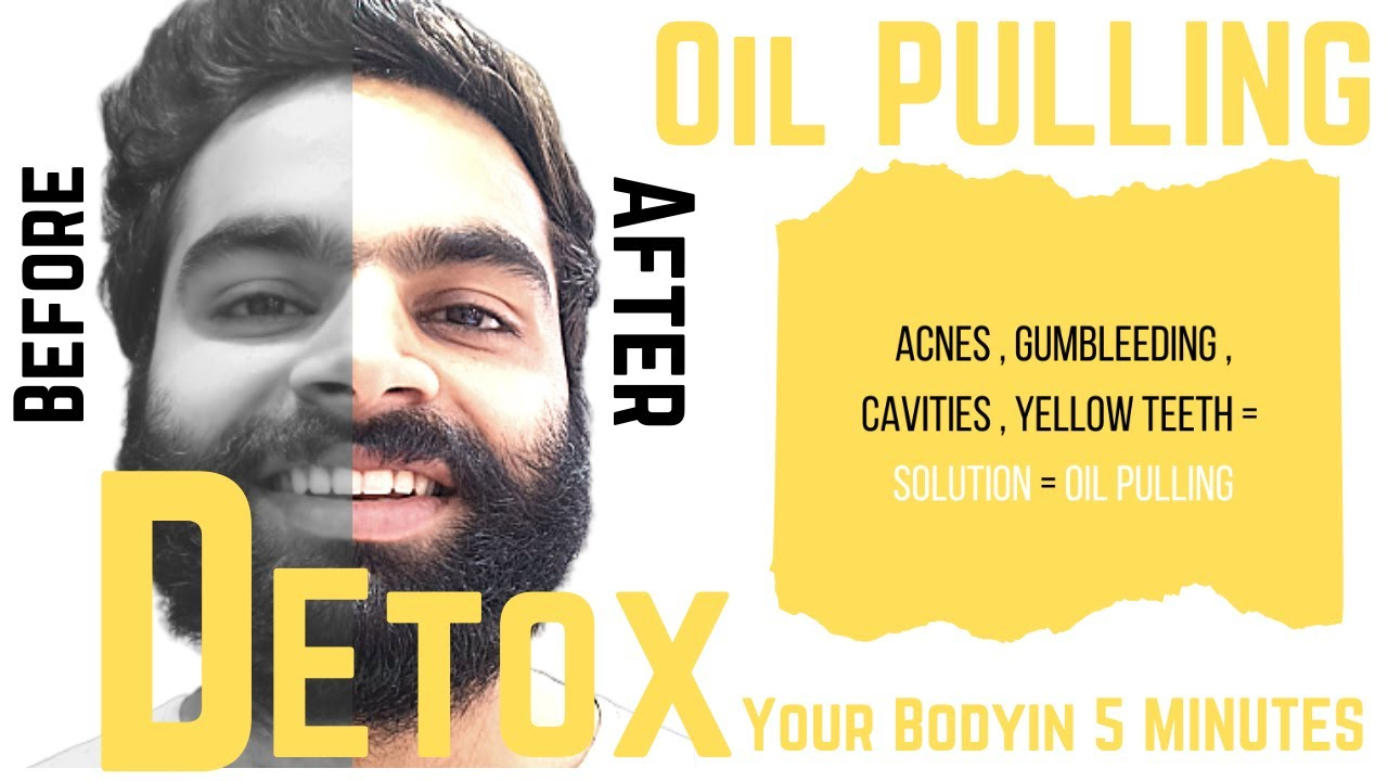 Detox Your Body By Oil Pulling in 5 minutes💯 | Face Fat Exercise |
