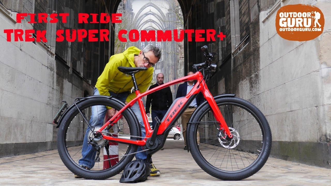 First Ride Trek Super Commuter Youtube