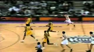Jason Williams - schooling Reggie Miller Highlights vs.Pacers [01-05-01]