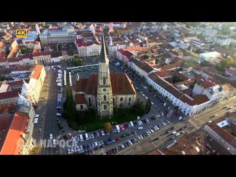 Cluj Napoca - Professional Aerial Drone Video 4K Ulta HD