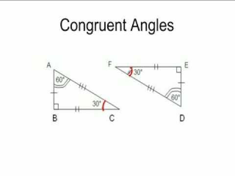 Congruent Angles Youtube