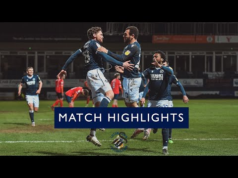 Luton Millwall Goals And Highlights