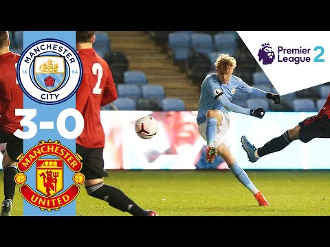 Goal of the Season contender? | Man City 3-0 Man Utd, Premier League 2 Highlights.