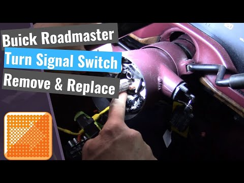 Buick Roadmaster: Turn Signal Switch Replacement