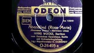 Abendlied - Hans Wocke - 1940