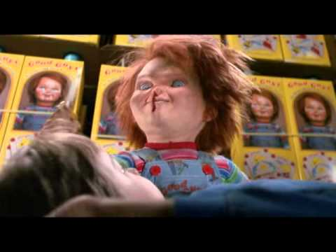 angry chucky clips (child's play 2)