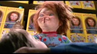 angry chucky clips (child