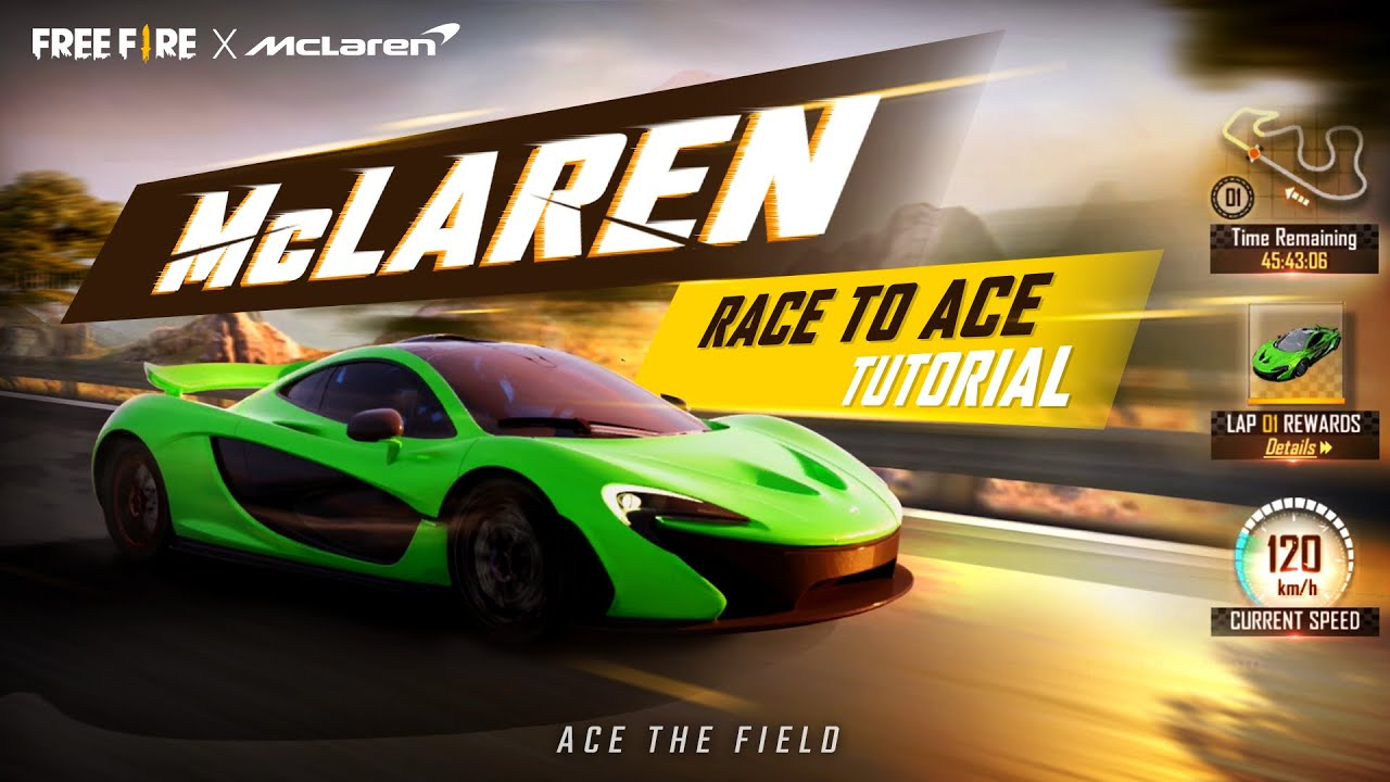 Free Fire x McLaren Race to Ace Special Event - Tutorial