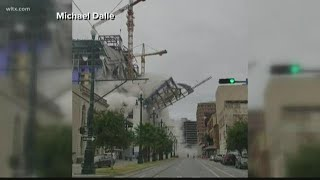 Hard Rock Cafe Canal Street New Orleans Collapses: Raw video