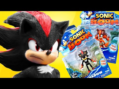 Opening Super Sonic Boom Toys Sticks Shadow Youtube