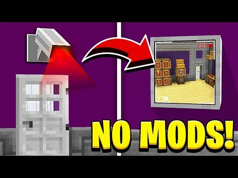 how-to-make-a-working-security-camera-in-minecraft!-(no-mods!)