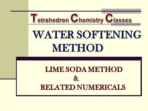 Part 2: Lime Soda Process For Water Softening & Related Numericals